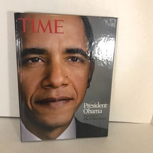 Time coffee table book President Obama Path to WH